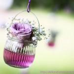 Hochzeitsdekoration Blumen - Unter der Linde