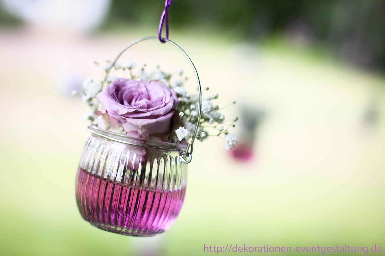 Hochzeitsdekoration Blumen Unter Der Linde Dekorationen