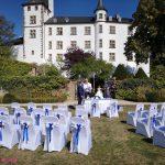 Hochzeitsdeko Victors-Residenz-Hotel
