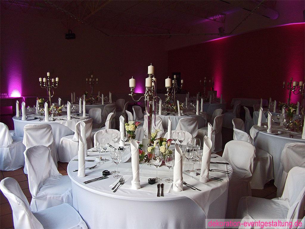 Hochzeitsdekoration hochzeitsdekoration for Dekoration hochzeit mieten