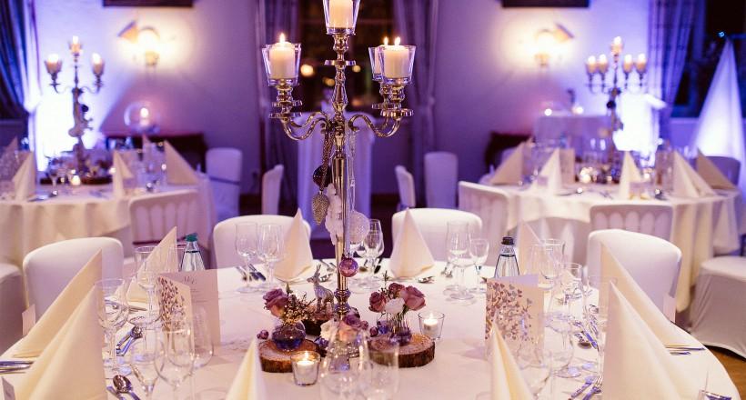 Hochzeitsdekoration Winterhochzeit Linslerhof