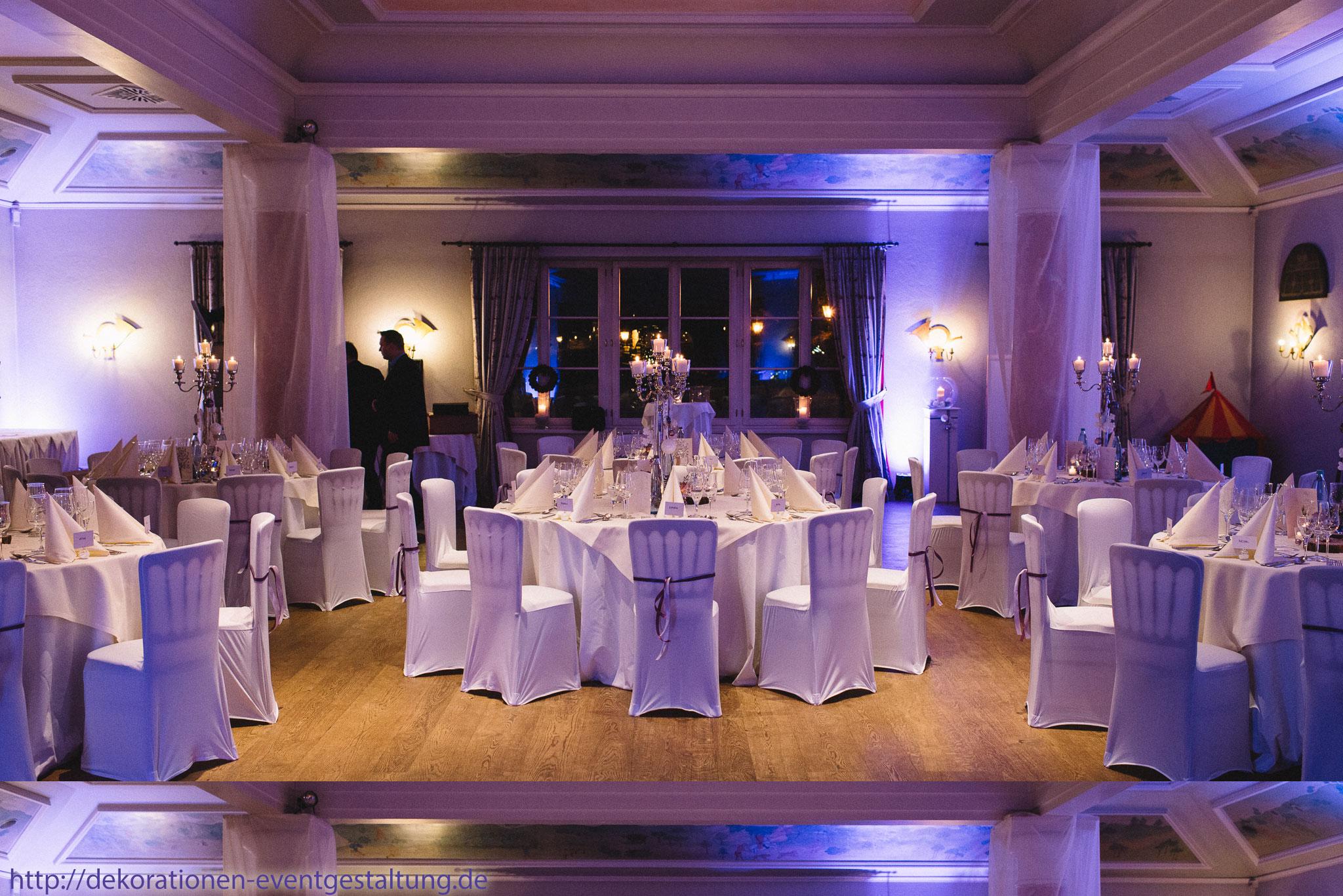 Unsere Dekoration trägt dazu bei, dass Ihre Hochzeitsfeier zu einem ...