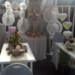 Hochzeitsmesse Messe-Dekoration