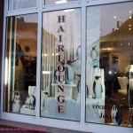 Schaufenster Hairlounge