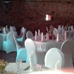 Hochzeitsdekoration Bettinger Mühle