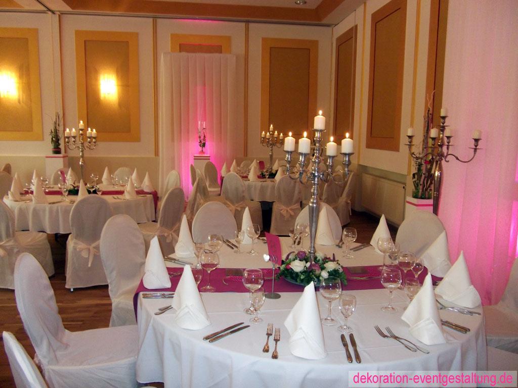 Hochzeitsdekoration dekoration deko ideen Hochzeitsdekoration