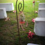 Hochzeitsdekoration Garten