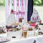 Hochzeitsdekoration Buffet