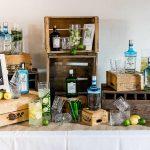 Hochzeitsdekoration Bar