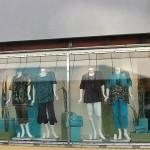 Schaufensterdekoration Chalou-Shop in Mainz