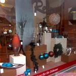 Schaufensterdekoration Geschenkartikel Weihnachten