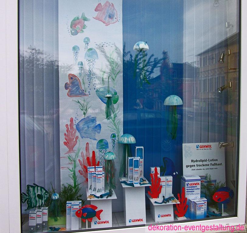 Schaufensterdekoration » dekorationen & eventgestaltung