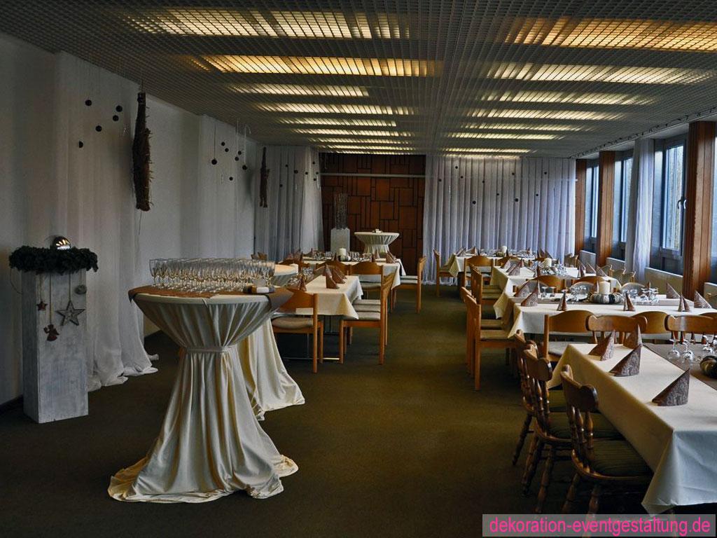 Jubiläumsdekoration Rathaus » dekorationen & eventgestaltung